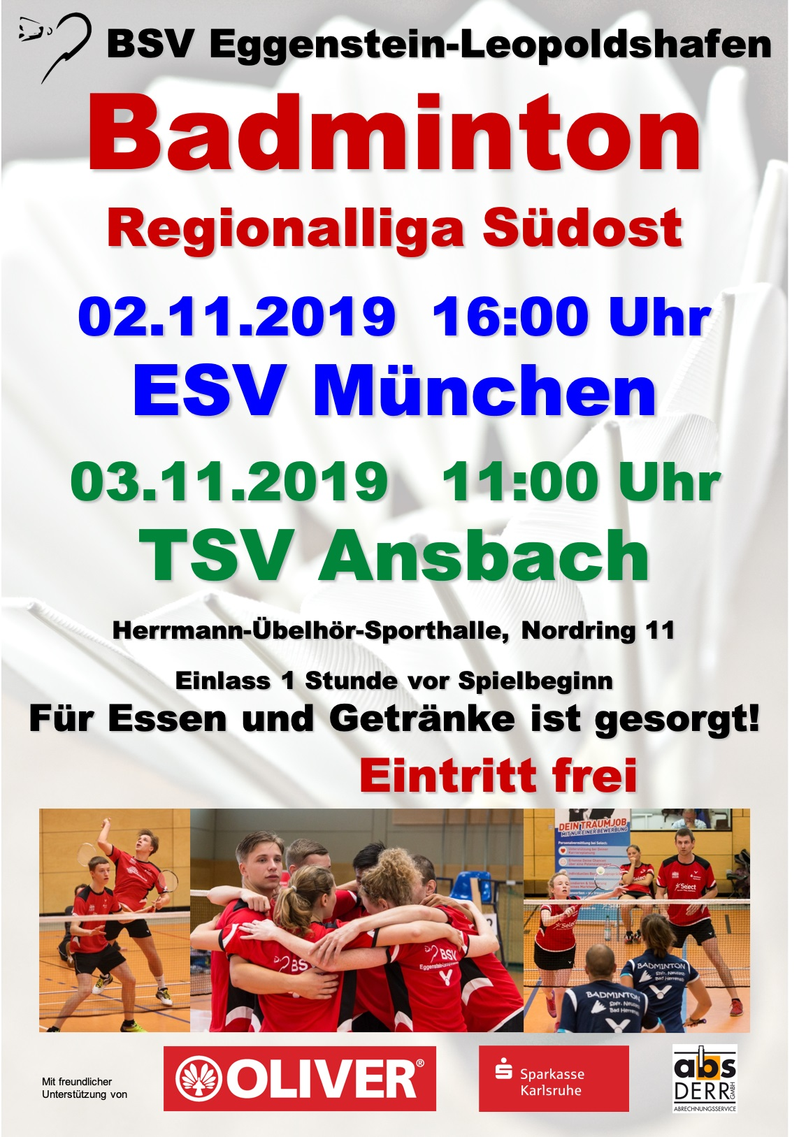 Anstehender Heimspieltag Regionalliga Südost